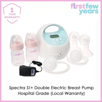Spectra S1 Plus Hospital Grade Double Electric Breast Pump with inbuilt rechargeable battery