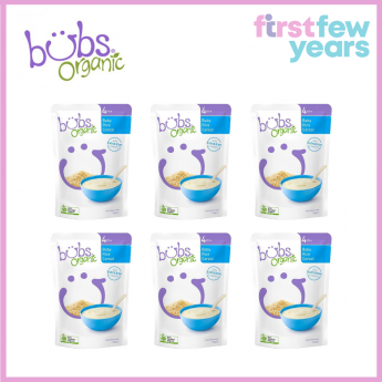 BUBS® ORGANIC BABY RICE CEREAL(6 PACKS)