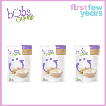 BUBS® ORGANIC BABY ANCIENT GRAIN PORRIDGE(3 PACKS)