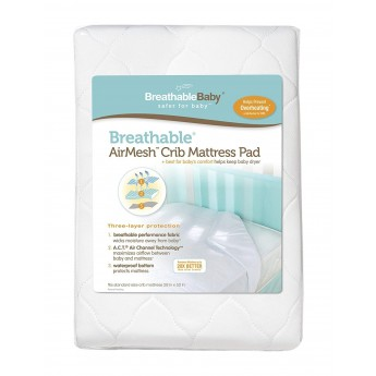 Breathable Baby AirMesh Waterproof Mattress Pad Cover