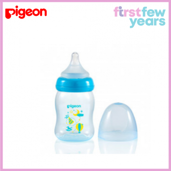 Pigeon Softouch Peristaltic Plus Clear PP Bottle 160ml