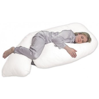 LEACHCO All Nighter Total Body Pillow Ivory