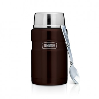 THERMOS 710ML STAINLESS KING FOOD JAR WITH SPOON SK-3021