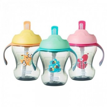 Tommee Tippee Trainer Straw Cup(8oz)