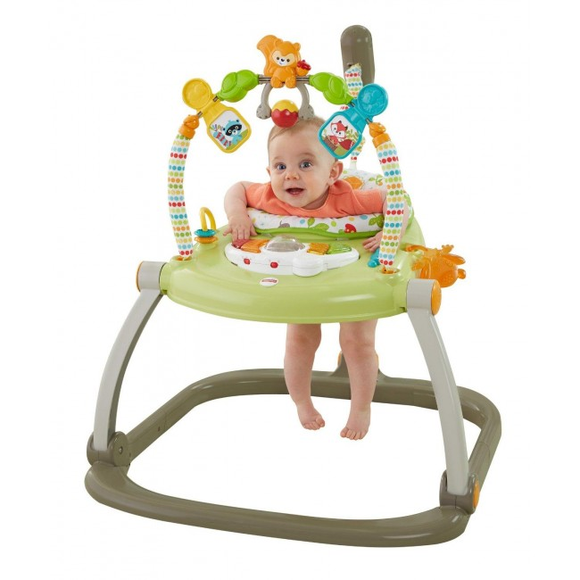 2c3474db9b33 Fisher-Price Spacesaver Jumperoo Woodland