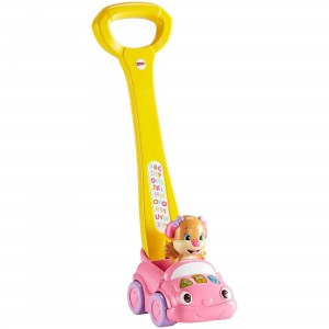 FISHER-PRICE LAUGH & LEARN SIS' SMART STAGES PUSH CAR