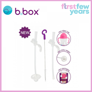 B.BOX Sippy Cup Replacement Straw + Cleaner