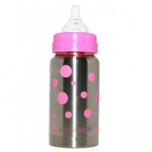 ORGANICKIDZ 7OZ WIDE MOUTH THERMAL BABY BOTTLE