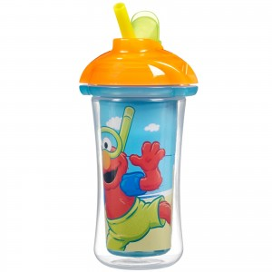 MUNCHKIN Licensed Character Click Lock Insulated Straw Cup  9 oz