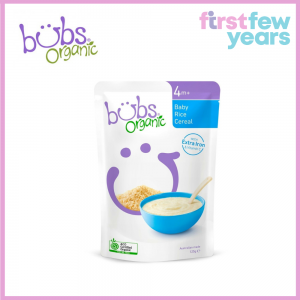 Bubs® Organic Baby Rice Cereal