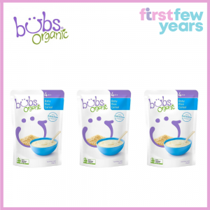 BUBS® ORGANIC BABY RICE CEREAL(3 PACKS)