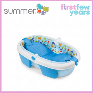 Summer Infant Foldaway Baby Bath (Newborn to Toddler)