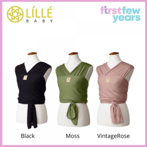 LILLEBaby Dragonfly Wrap Baby Soft Carrier