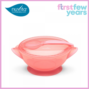 NUVITA BOWL WITH LID AND SPOON