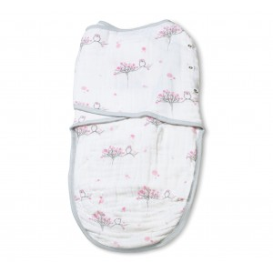 Aden + Anais Double Layer Easy Swaddle-For The Birds