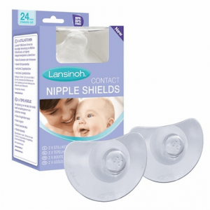Lansinoh Contact Nipple Shield with Case (2 Sizes)