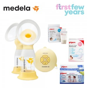 Medela Swing Maxi Flex™ 2-Phase double electric breast pump BUNDLE 5