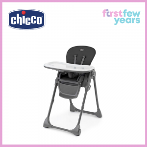 Chicco Polly Highchair-Black
