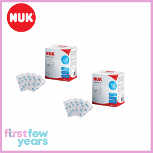 NUK Nipple Wipes (2 Packs)