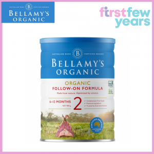 BELLAMY'S (STEP 2) ORGANIC FOLLOW-ON FORMULA 900G