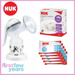 Nuk Jolie Manual Pump Bundle Set