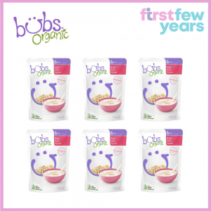 BUBS® ORGANIC BABY OATS CEREAL(6 PACKS)