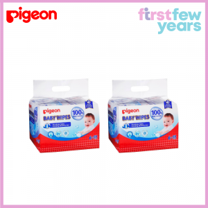 Pigeon 100% Pure Water Baby Wipes 80s X 12
