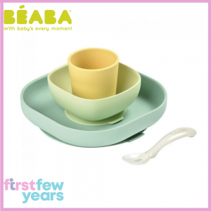BEABA SILICONE MEAL SET (4PCS)