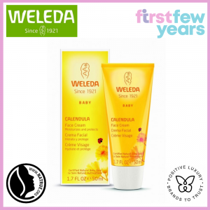 Weleda Organic Face Calendula Cream -Gentle, 50ml