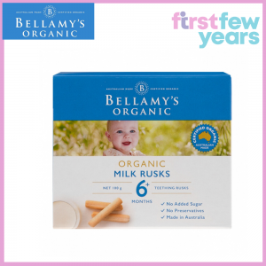BELLAMY'S ORGANIC MILK RUSKS