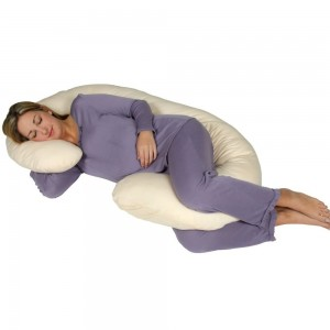 LEACHCO Snoogle Chic Jersey Body Pillow