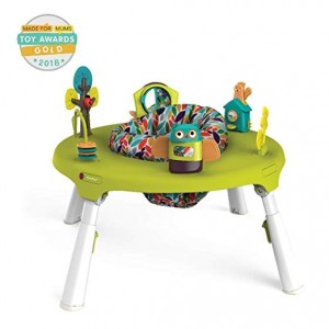 Oribel PortaPlay 4-in-1 Foldable Travel Activity Center- Forest Friends