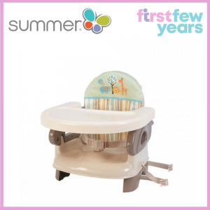 Summer Infant Deluxe Comfort Folding Booster Seat (2 Designs)
