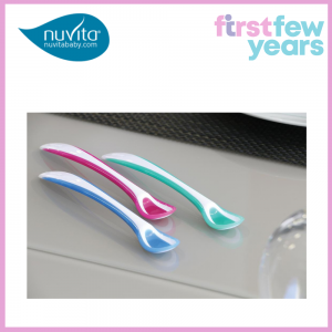 NUVITA EASYEATING – SET OF THERMOSENSITIVE SPOONS