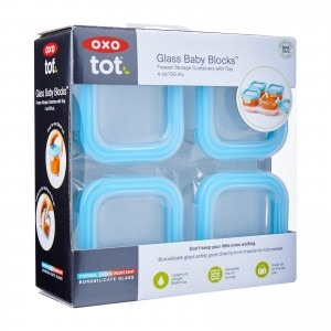Oxo Tot Glass Baby Blocks (120ml)