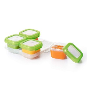 Oxo Tot Baby Blocks Freezer Storage Container Set 4oz