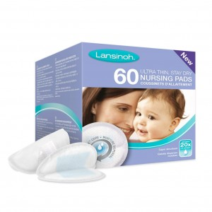 Lansinoh Nursing Pads Stay Dry (60 pc)