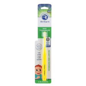 Baby Buddy Brilliant Baby Toothbrush (4-24 Months)