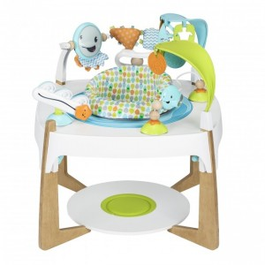 Evenflo ExerSaucer 2-in-1 Activity Center/Art Table-Gleeful Sea