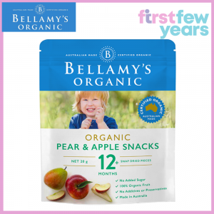 Bellamy's ORGANIC PEAR AND APPLE SNACKS