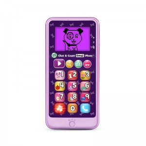 LEAP FROG Chat & Count Emoji Phone-VIOLET
