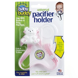 Baby Buddy Pacifier Holder (Assorted Color)