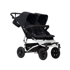 Mountain Buggy Duet Double Stroller-Black
