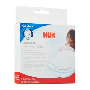 NUK Washable Nursing Pads(6 Pk)