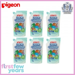 Pigeon Liquid Cleanser Refill Bundle Pack ( 6 X 650ml)