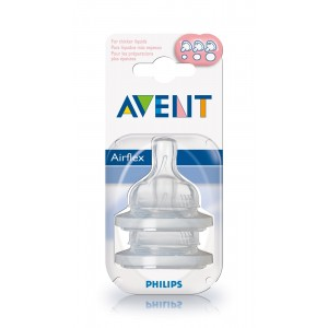 PHILIPS AVENT Replacement Teats Level 3