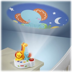 FISHER-PRICE 4 in 1 Rainforest Friends - Projection Soother
