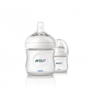 PHILIPS AVENT Natural  Feeding Bottles 4 oz 2pk