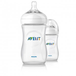 PHILIPS AVENT Natural  Feeding Bottles 9 oz 2pk