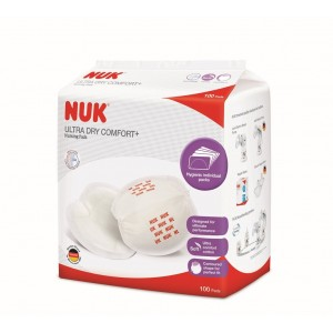 NUK Ultra Dry Breast Pads (100 Pcs)